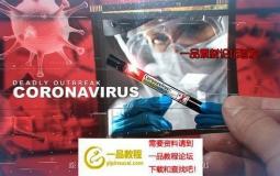 新冠病毒疫情爆发开场片头ae模板 Deadly Outbreak Coronavirus