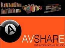 avshare–书籍和图片模型下载