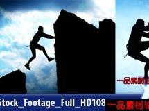 攀岩运动员高清实拍视频素材,Rock Climber