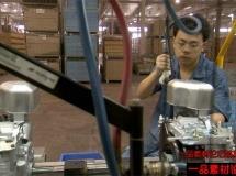 发动机生产车间高清实拍视频素材1080P