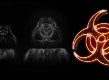 黑暗烟雾霓虹Logo动画 Dark Smoke Neon Logo Intro Reveal