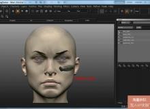 《Mari真实皮肤绘制视频教程》英语版