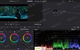 DaVinci Resolve 16达芬奇色彩分级速成训练视频教程