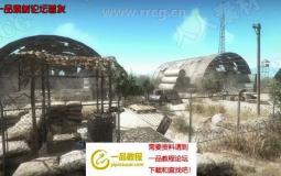 军事沙漠场景环境Unity游戏素材资源