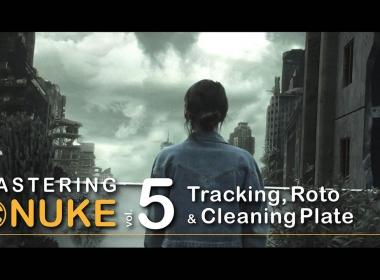 Nuke入门到精通教程5 Mastering Nuke vol 5 – Tracking Roto and Paint