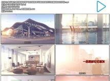 繁华城市建筑高楼房地产室内装修海景房宣传片高清视频延时实拍