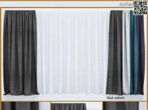 可以用于客厅的窗帘2018新款 高品质3D模型