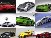 3D Models – Car Collection