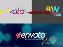 MG彩色笔刷 VideoHive Paint Blobs Logo Opener