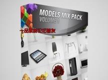 CGAxis Models Mix Pack Vol 1 max c4d 3D models 3.29 GB
