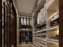 中式风格衣帽间衣柜 高质量3D模型