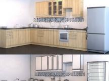 3D橱柜模型  欧式橱柜的高品质