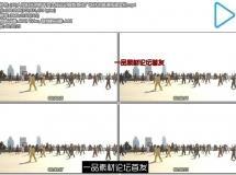 [4K]人们阳光照射下耍太极运动锻炼身体广场休闲高清视频实拍