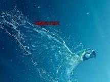 水下下沉沉没特效PS动作