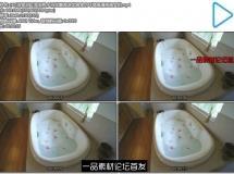 [4K]浴室浴缸泡浴热水浴花瓣泡沫优雅室内环境高清视频实拍