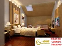 3D卧室模型效果图