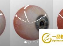 CG模型下载 真实眼睛眼球3D模型(OBJ+FBX) Gumroad – Realtime Eye