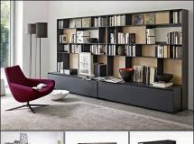 意大利架子和抽屉 高品质室内家具模型