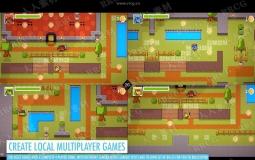 TopDown动作冒险游引擎Unity游戏素材资源