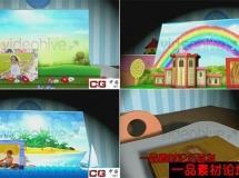 卡通儿童相册展示AE模板——1020 videohive-3266747-magic-popup