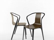 3D椅子模型  漂亮的铁艺椅子