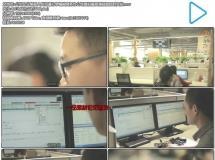 公司企业客服人员沟通打字编辑商务办公场景拍摄高清视频延 ...