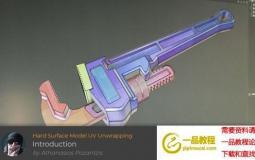 C4D硬面模型展UV教程 Cineversity – Hard Surface Modeling UV Unwrapping