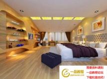 时尚卧室3d模型