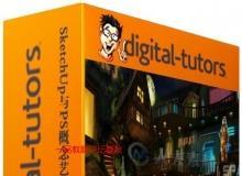 《SketchUp与PS概念艺术场景绘制视频教程》英语版