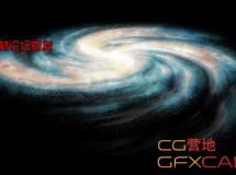 C4D宇宙银河教程 Create a Simple Spiral Galaxy in Cinema 4d