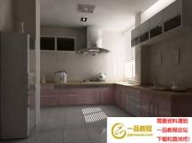 温馨家居厨房3D模型