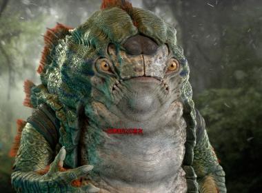ZBrush+Maya外形生物角色制作教程 Creating a Fantasy Creature