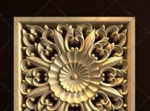 正方形雕花3D模型下载模型高品质 3D模型下载
