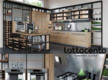厨房橱柜模型 Roveretto kitchen by Ottocento