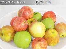 3D苹果模型  3docean–苹果 高品质3D模型下载