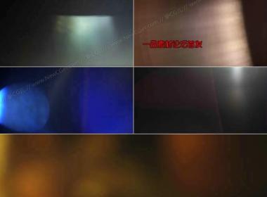 非常实用的2K级漏光光效视频素材1