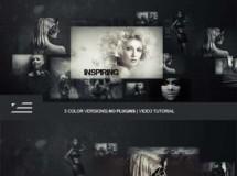 照片网格展示 VideoHive Photo Grid