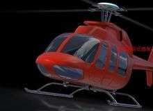 《LightWave 3D直升机实例制作视频教程》英语版