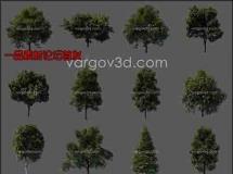 3d 树模型