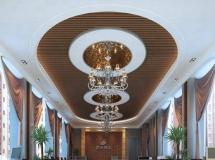 公司接待区模型大型会议大厅模型效果图