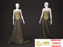 3D人物模型   影楼婚纱摄影服装模特3D模型下载