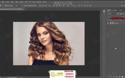 PS照片转换素描效果彩色背景处理视频教程